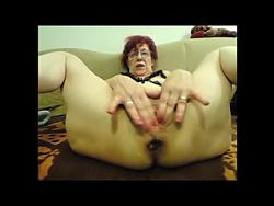 German Granny Huge Dildos Anal Prolapse And Fisting