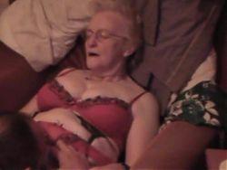 Granny Jean Gets Some Spunk