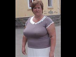 Tatiana, Russian Granny, 60 yo, with big boobs! Amateur!