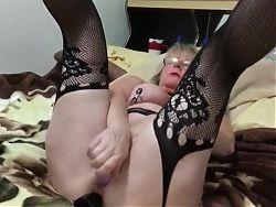 Granny masturbation 2
